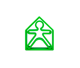 Green - dëna KID 1x + dëna HOUSE 1x - Pack 2 - Dëna, juguetes para una diversión infinita