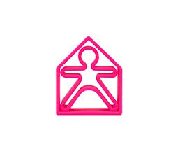 Pink - dëna KID 1x + dëna HOUSE 1x - Pack 2 - Dëna, juguetes para una diversión infinita