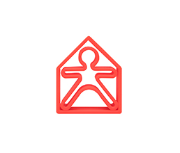 Red - dëna KID 1x + dëna HOUSE 1x - Pack 2 - Dëna, juguetes para una diversión infinita