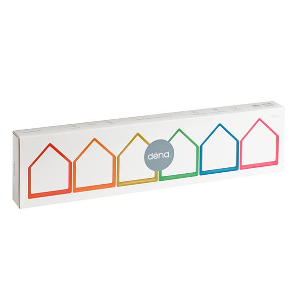 Dëna Houses 6x - Nuestro Juguete - Dëna, toys for infinite fun