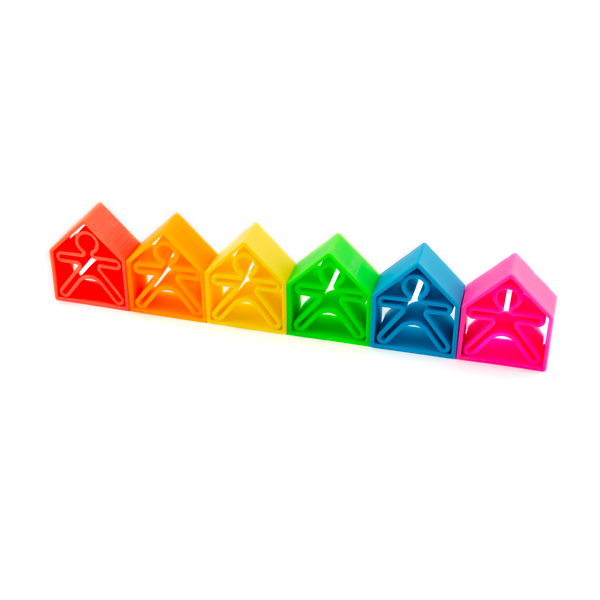 dëna KIDS 6x + dëna HOUSES 6x - Pack 12 - Dëna, toys for infinite fun
