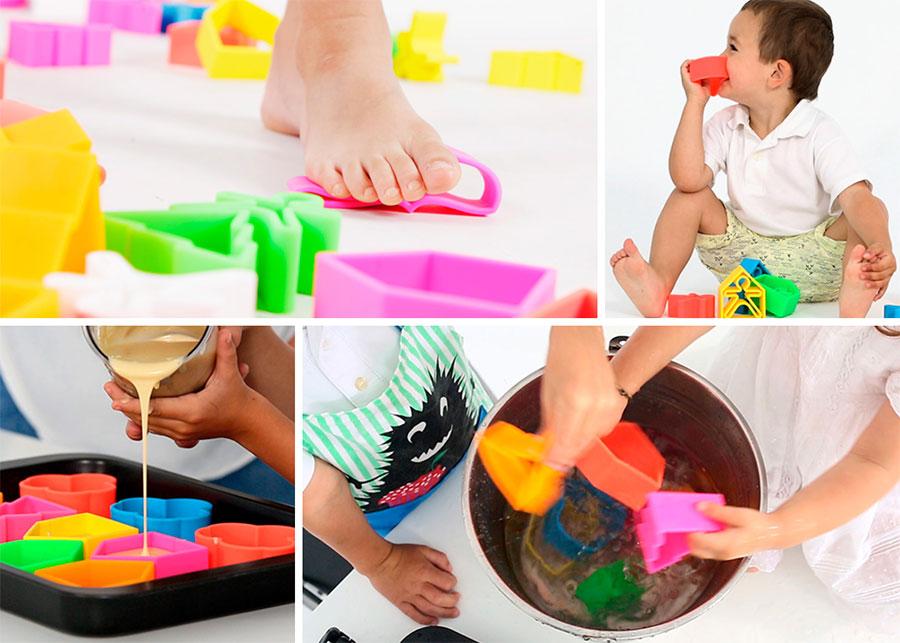 dena toy juguetes de silicona de 0 a 6 años muy seguro