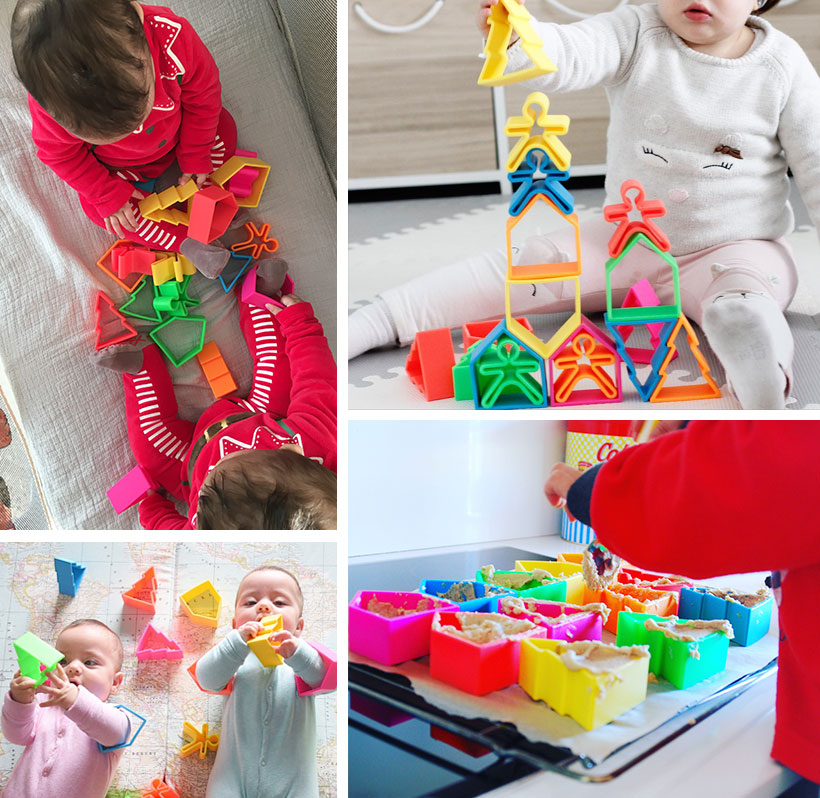 Niños jugando con dena toys
